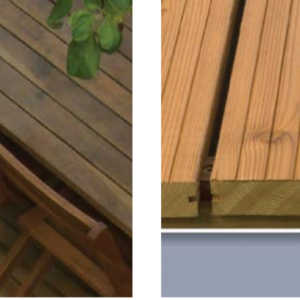 Thermowood softwood decking aylesbury